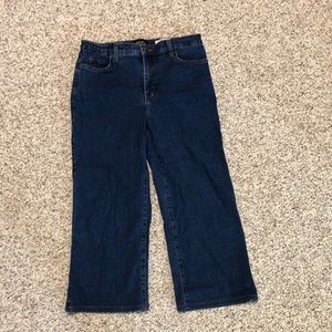 NYDJ Denim Straight Crop Jeans Size 8 EUC